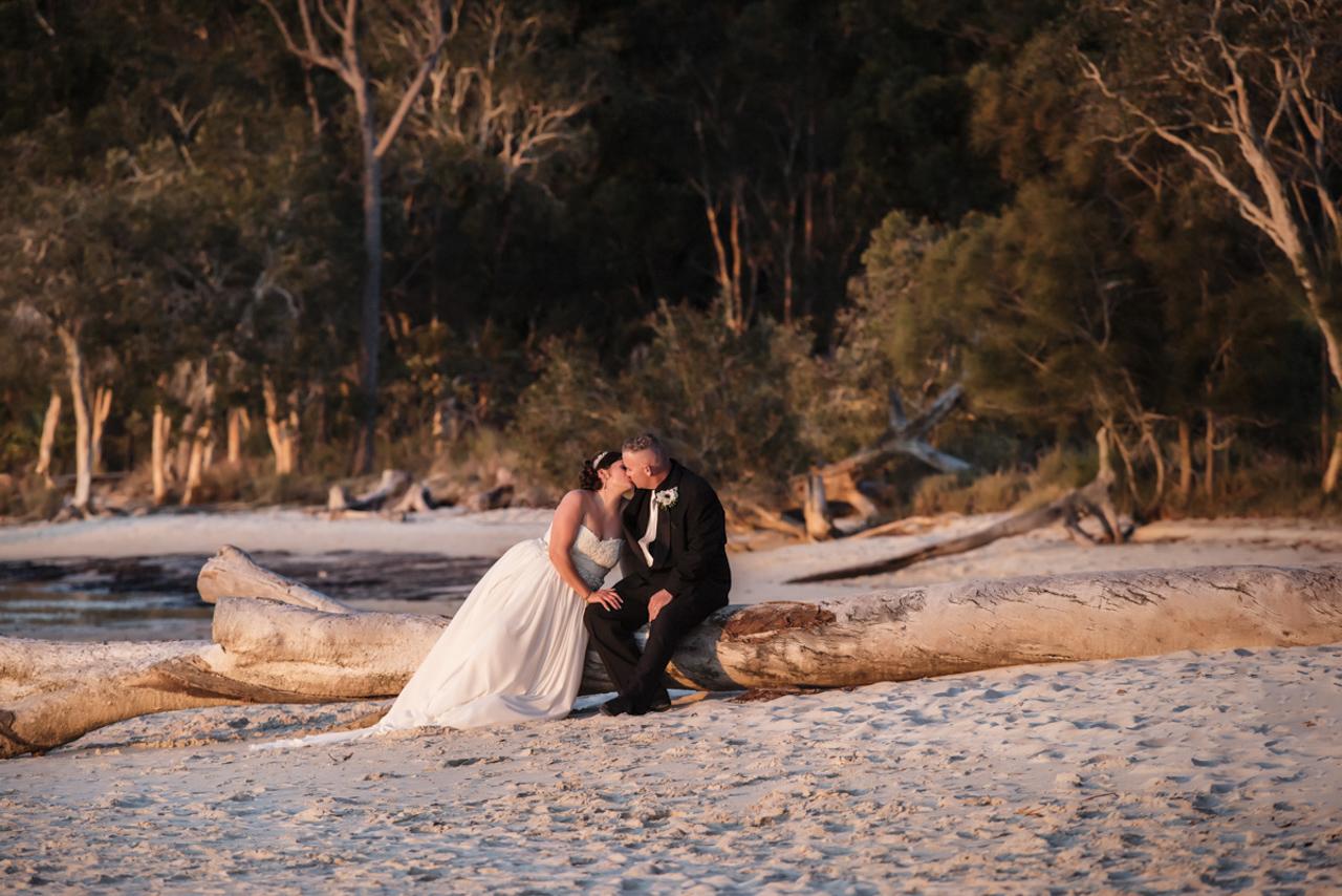 Fraser Island Wedding - Kristie and Toby