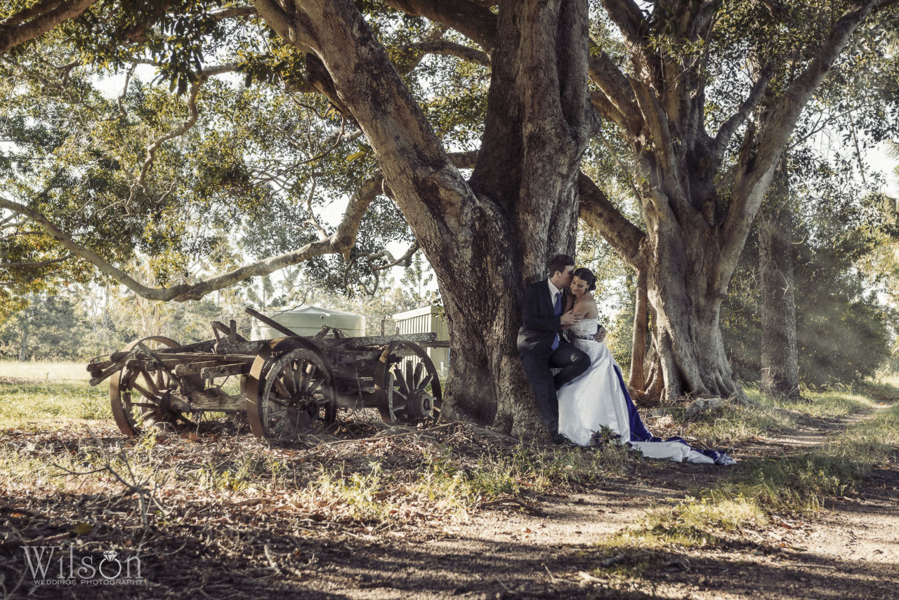 John and Sarah Bundaberg wedding photography