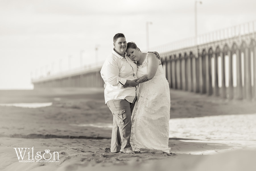 Hervey Bay Maryborough Bundaberg same sex wedding photographer