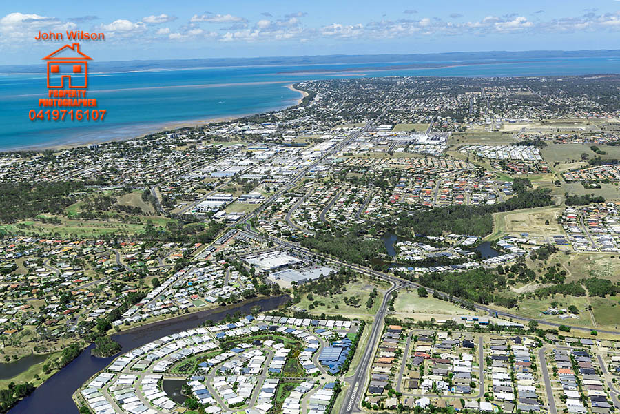 Hervey Bay Bundaberg aerial real estate photography