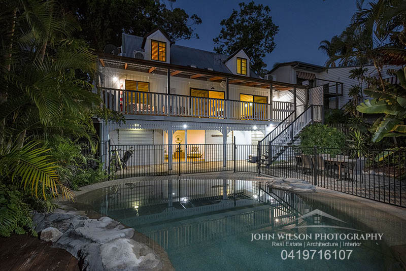 Twilight property photography Hervey Bay03