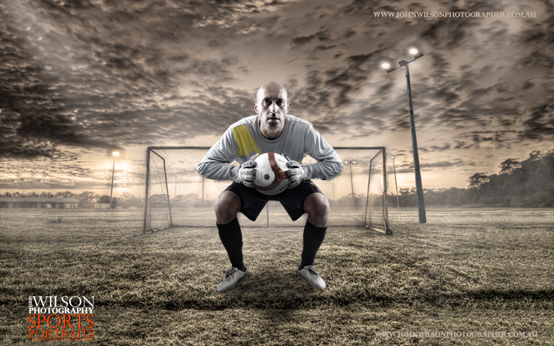 Hervey Bay sports portrait photography