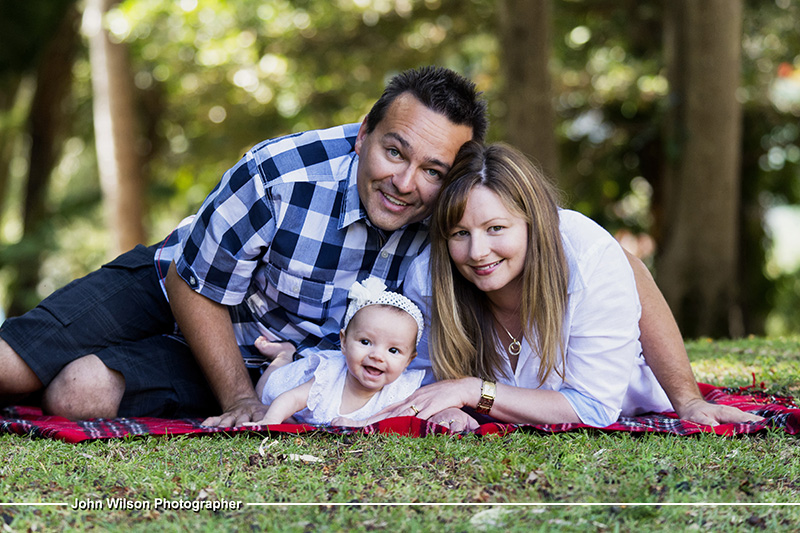Family portrait photography Hervey Bay
