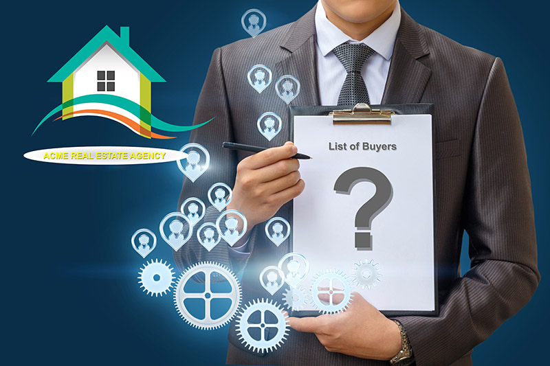 Real Estate Agent list of buyers