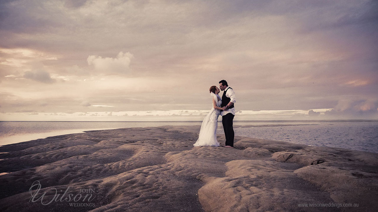 Fraser Island wedding photography