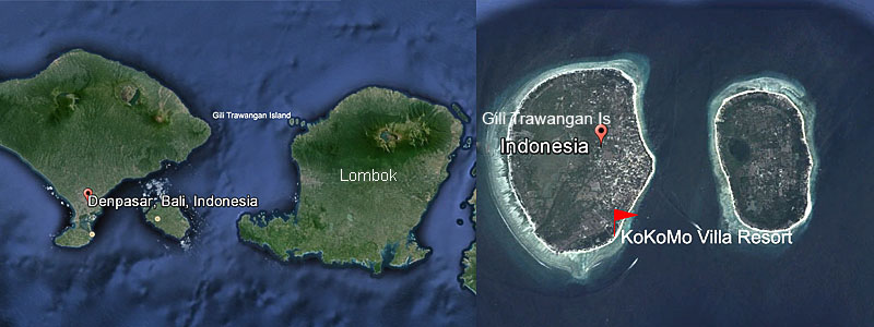 Bali and Gili islands