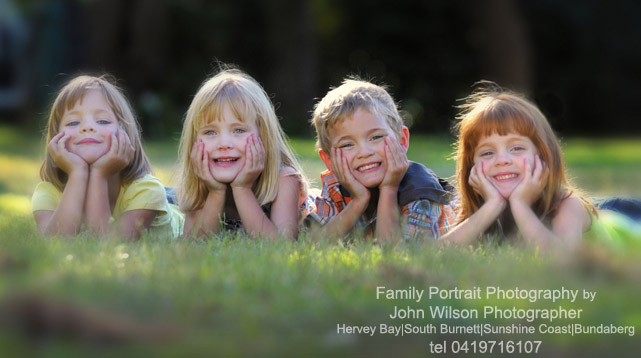 Hervey Bay Maryborough family portrait photographer