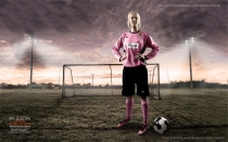 Portrait Photography for Breast Cancer Awareness | Hervey Bay Maryborough Bundaberg portrait photographer | John Wilson