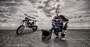 Maryborough Portrait Photography for athletes |  MOTOR CROSS Champ