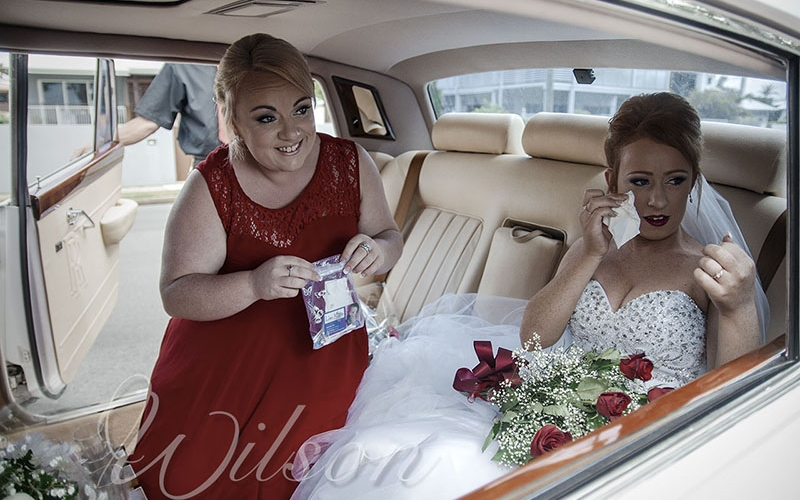 Hervey bay  wedding photo